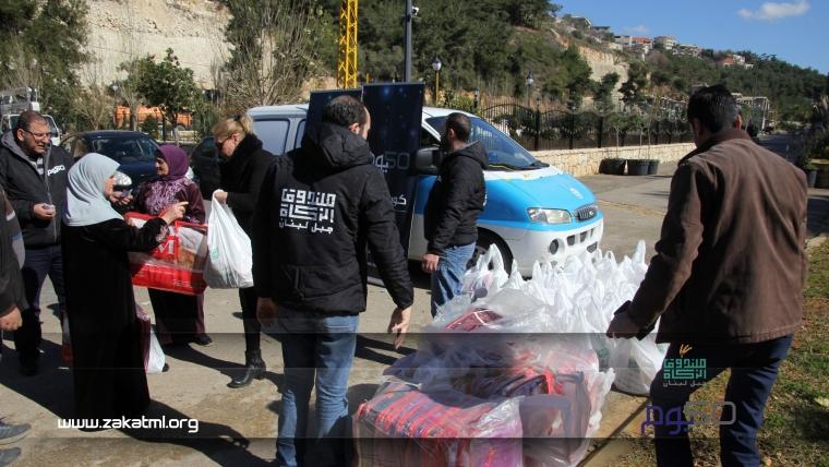 """استكمالاً لـ""""حملة 50 يوم"""": مساعدة اكثر من ٣٠٠ عائلة"""